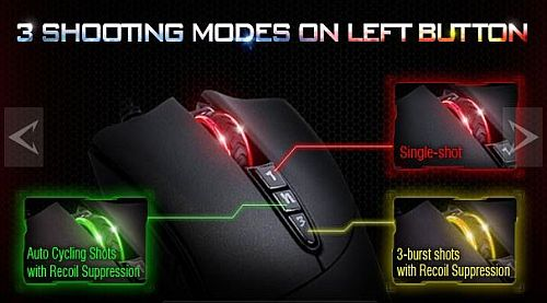 3 shooting modes