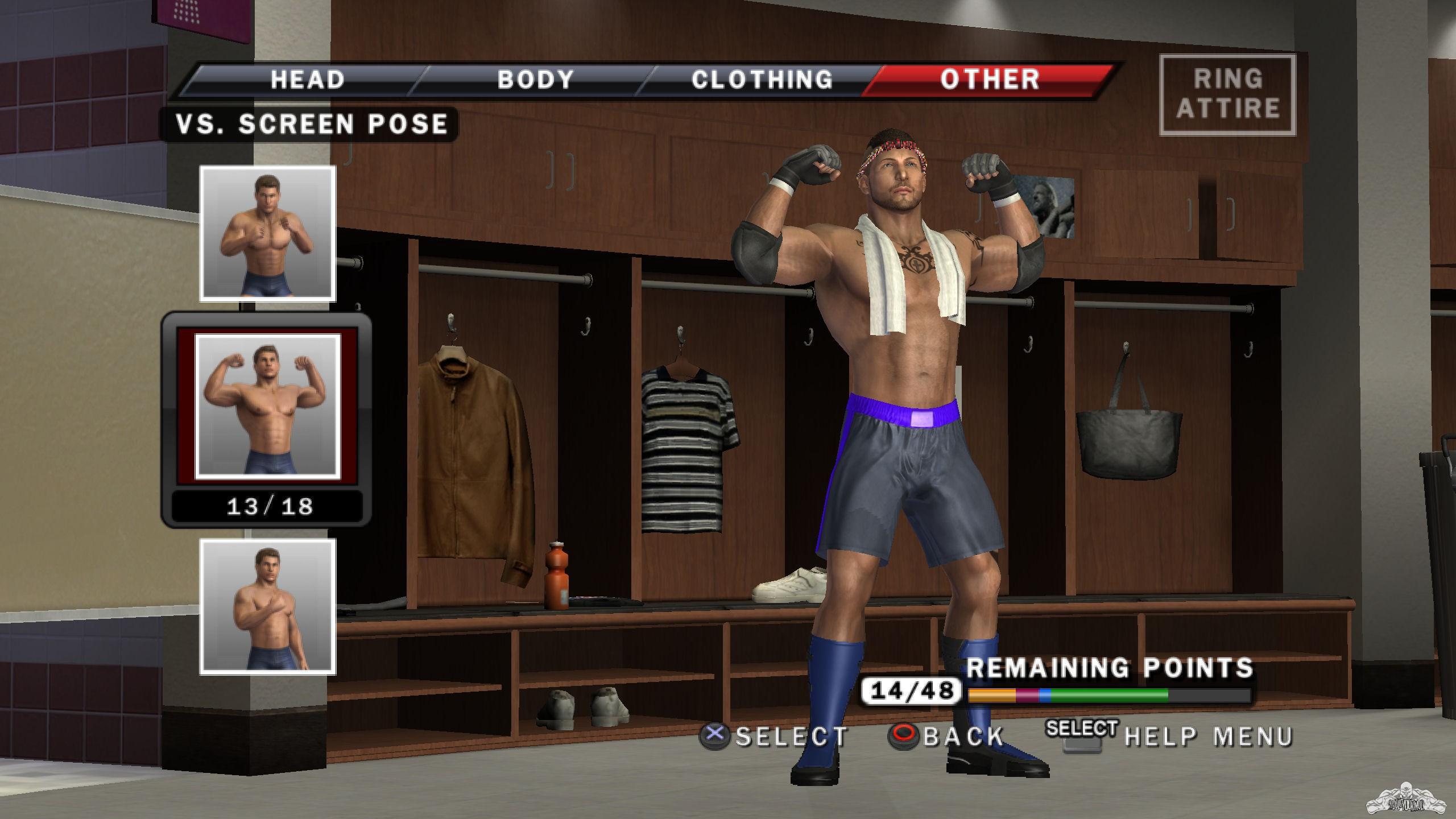 smackdown vs raw create wrestler