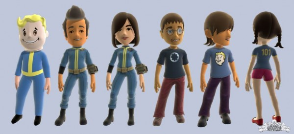 Fallout 3 Xbox 360 Avatar Clothes coming Thursday!