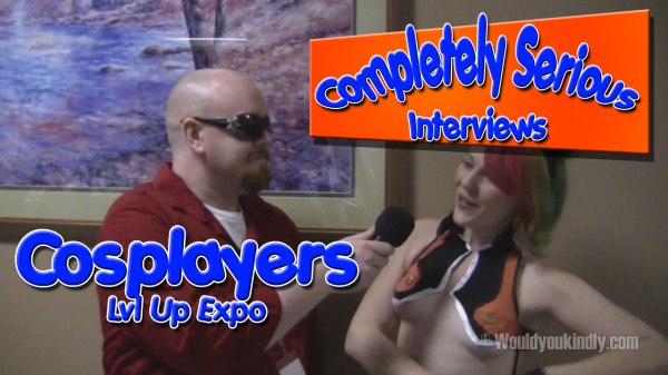 Completely Serious Interviews – Cosplayers
