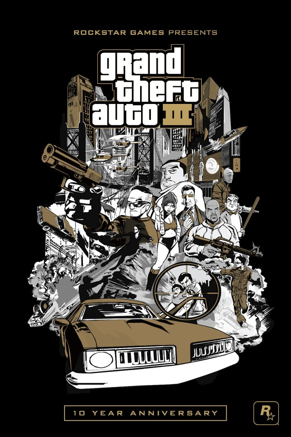 Grand Theft Auto III: 10 Year Anniversary Edition Now Available for iPad, iPhone, iPod and Android Devices