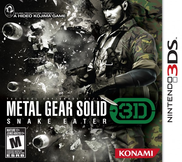 Metal Gear Solid: Snake Eater 3D Gets Release Date