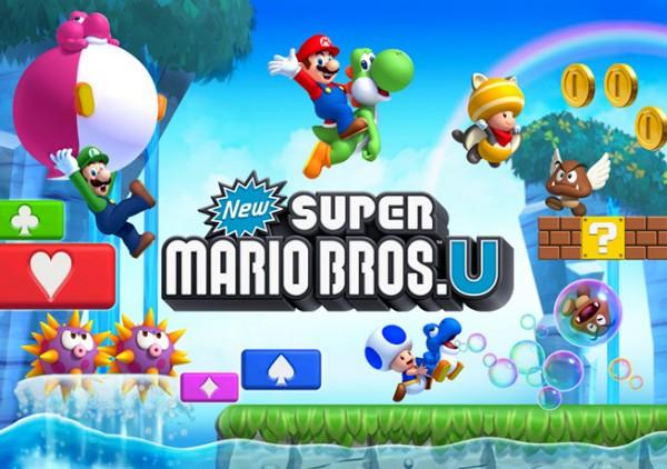 The Game Machine: New Super Mario Bros U Review