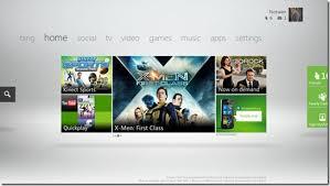 Xbox Live Fall 2011 Dashboard