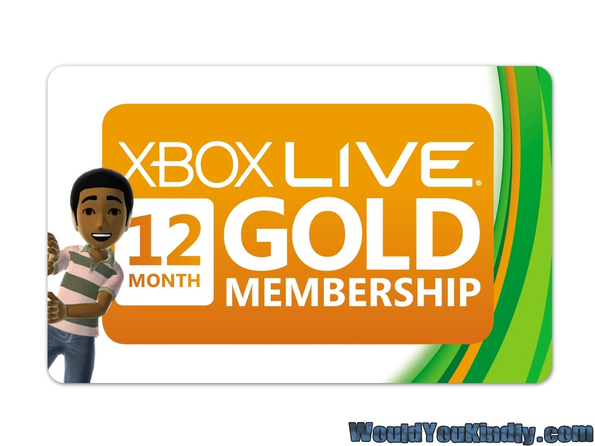 Xbox LIVE subscription cards, Microsoft Points finally rebranded, join ...