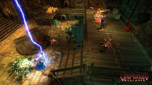 Crimson Alliance screens bring the thunder, might ease the wait for Torchlight II and Diablo III
