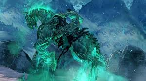 Death does not simply walk into dungeons.  He rides a really bad ass undead horse.