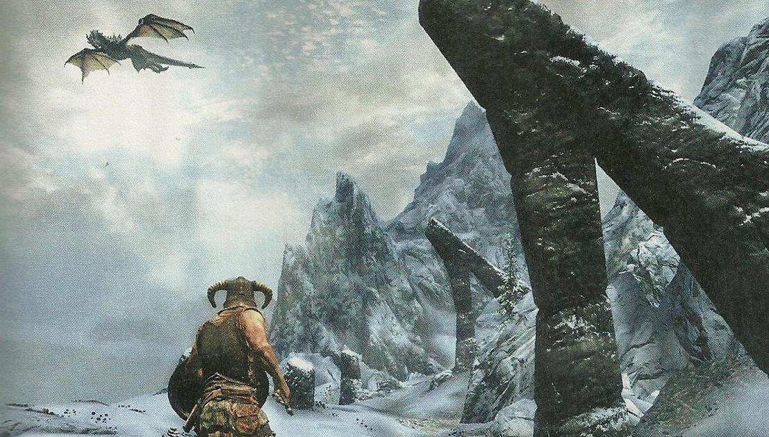 the elder scrolls v skyrim game informer PICTURES; game informer elder