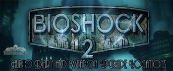 "BioShock 2 ""Dionysus Park"" Audio Diary and Weapon Upgrade Station Locations"