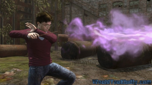 Gamescom: Harry Potter and the Deathly Hallows uses Kinect, looks magically awkward