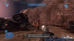 Halo Reach: If They Came to Hear Me Beg Achievement