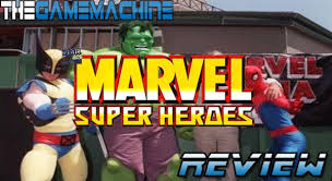 The Game Machine: Marvel Super Heroes Review PS1/Saturn