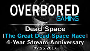The Great Dead Space Race – OBG's 4 Year Anniversary