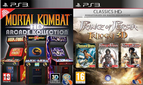 Prince of Persia, Mortal Kombat HD Collections need announcing already