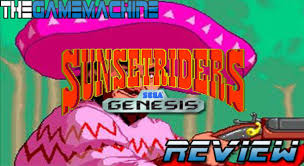 The Game Machine: Sunset Riders Genesis/Mega Drive Review