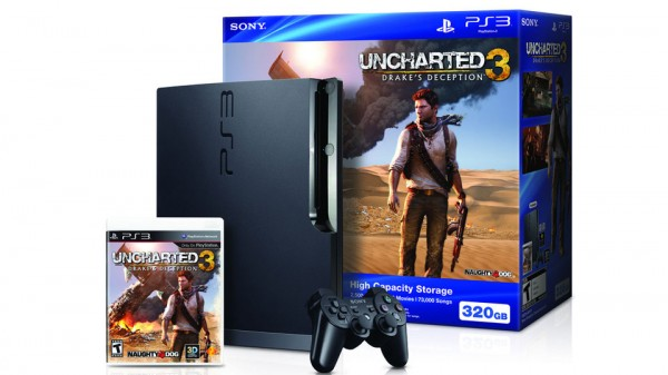Uncharted 3 getting 320GB PS3 bundle this fall